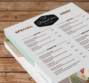 <span>Food Menu Design</span><i>→</i>